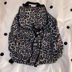 VS Pink Cheetah Print Backpack